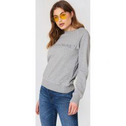 Acqua Limone Bluza Classic Collage - Grey. Szare bluzy damskie Acqua Limone, z nadrukiem, z dżerseju. Za 364.95 zł.