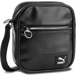 Saszetka PUMA - Orginals Portable 075016 01 Puma Black. Saszetki męskie marki Puma. W wyprzedaży za 119.00 zł.