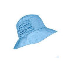 Kapelusz TREK 500 damski. Niebieskie czapki i kapelusze damskie FORCLAZ. W wyprzedaży za 29.99 zł.