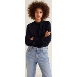 Mango - Bluzka Flax2. Białe bluzki damskie Mango, z materiału, eleganckie, z krótkim rękawem. Za 159.90 zł.