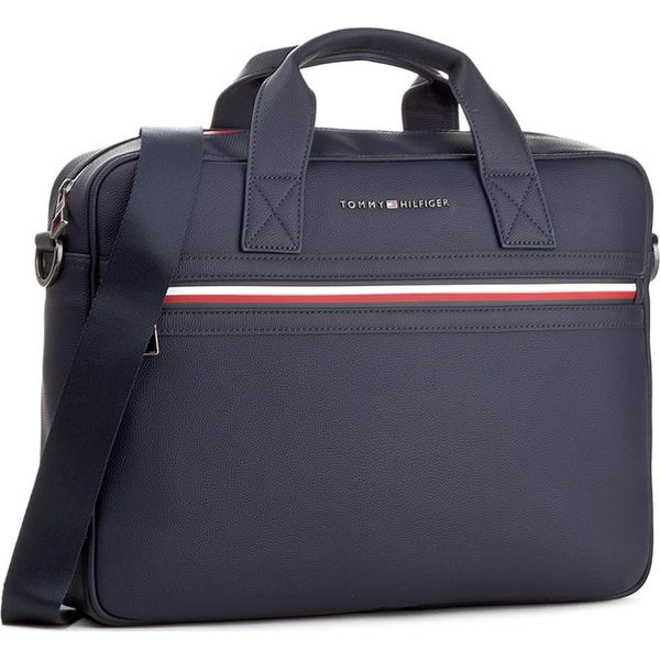 Torby na laptopa damskie: Torba na laptopa TOMMY HILFIGER - Essential Computer Bag II AM0AM02696 413