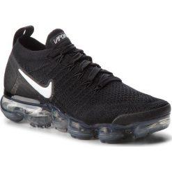 Buty NIKE - Air Vapormax Flyknit 2 942843 001 Black/White/Dark Grey. Czarne obuwie sportowe damskie Nike, z materiału. W wyprzedaży za 669.00 zł.