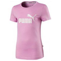 Puma Dziewczęca Koszulka Ess Tee Orchid 116 Różowy. Czerwone bluzki dla dziewczynek Puma, z napisami. Za 65.00 zł.