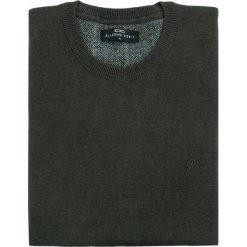 Sweter PIETRO L SWS000061. Brązowe swetry przez głowę męskie Giacomo Conti, z bawełny. Za 199.00 zł.