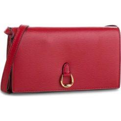 Torebka LAUREN RALPH LAUREN - Wallet Xbody 431709358004 Small Red. Czerwone listonoszki damskie Lauren Ralph Lauren, ze skóry. Za 789.90 zł.