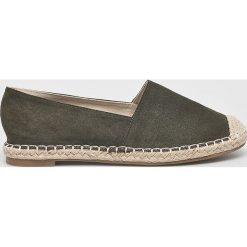 Answear - Espadryle Lily Shoes. Szare espadryle damskie ANSWEAR, z materiału. W wyprzedaży za 69.90 zł.