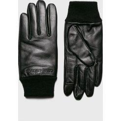 Calvin Klein Jeans - Rękawiczki. Czarne rękawiczki męskie Calvin Klein Jeans, z jeansu. Za 269.90 zł.