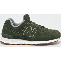 New Balance - Buty ML574EPB. Szare buty sportowe męskie New Balance, z materiału. Za 369.90 zł.