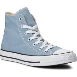 Trampki CONVERSE - Ctas Hi 162114C Washed Denim. Niebieskie trampki męskie Converse, z denimu. W wyprzedaży za 209.00 zł.