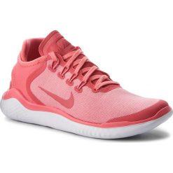 Buty NIKE - Free Rn 2018 Sun AH5208 800 Sea Coral/Tropical Pink. Czerwone obuwie sportowe damskie Nike, z materiału. W wyprzedaży za 329.00 zł.
