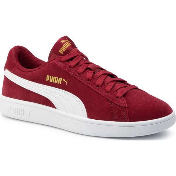 Sneakersy PUMA Smash v2 364989 29 RhubarbPuma Team GoldWhite