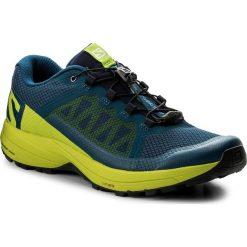 Buty SALOMON - Xa Elevate 400064 29 V0 Poseidon/Lime Green/Black. Niebieskie buty sportowe męskie Salomon, z materiału. W wyprzedaży za 349.00 zł.