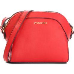 Torebka PUCCINI - BT18495 Red 3C. Czerwone listonoszki damskie Puccini, ze skóry ekologicznej. W wyprzedaży za 119.00 zł.