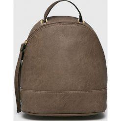Answear - Plecak. Szare plecaki damskie ANSWEAR, ze skóry ekologicznej. W wyprzedaży za 69.90 zł.