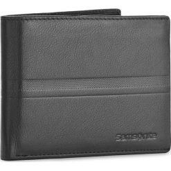 Duży Portfel Męski SAMSONITE - 001-015A0-0290-01 Black. Czarne portfele męskie Samsonite, ze skóry. Za 149.00 zł.