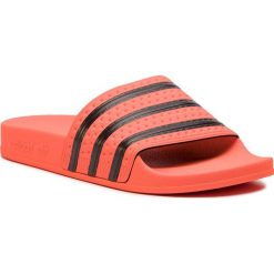 Klapki adidas - adilette CM8442 Actora/Cblack/Actora. Brązowe klapki damskie Adidas, z materiału. Za 169.00 zł.