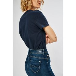 Pepe Jeans - Spódnica Taylor. Szare spódnice damskie Pepe Jeans, z jeansu. W wyprzedaży za 259.90 zł.