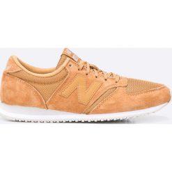 New Balance - Buty U420LBR. Pomarańczowe buty sportowe męskie New Balance, z materiału. W wyprzedaży za 199.90 zł.