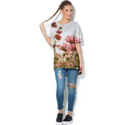 Colour Pleasure Koszulka CP-033  213 biało-zielona r. uniwersalny. Bluzki damskie marki Colour Pleasure. Za 76.57 zł.
