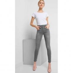 Jeansy skinny z wysokim stanem. Szare jeansy damskie Orsay. Za 139.99 zł.
