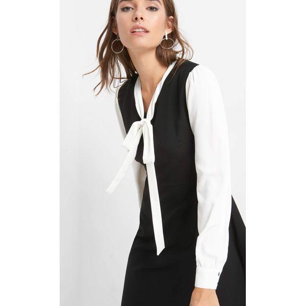 e28326400f Sukienka z wiązaniem - Czarne sukienki damskie marki Orsay