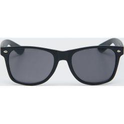 Sinsay Okulary przeciwsłoneczne z dżetami Czarny Ceny i