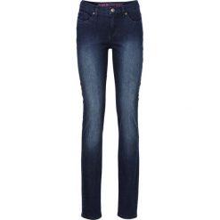 """Dżinsy """"Super skinny"""" bonprix ciemny denim. Niebieskie jeansy damskie bonprix. Za 74.99 zł."""