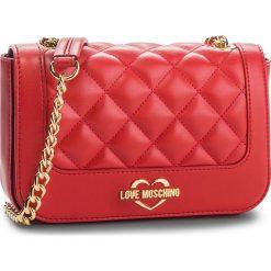 Torebka LOVE MOSCHINO - JC4208PP06KA0500 Rosso. Czerwone torebki do ręki damskie Love Moschino, ze skóry ekologicznej. Za 719.00 zł.