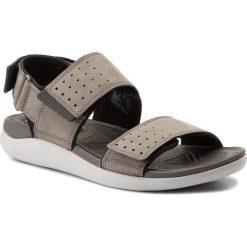 Sandały CLARKS - Garrat Active 261324297  Grey Nubuck. Sandały męskie marki Wojas. W wyprzedaży za 229.00 zł.