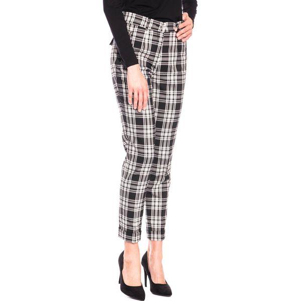 efe2fd2101e6a1 Czarno-białe spodnie w kant BIALCON - Spodnie materiałowe damskie BIALCON.  W wyprzedaży za 95.00 zł. - Spodnie materiałowe damskie - Spodnie i  legginsy ...