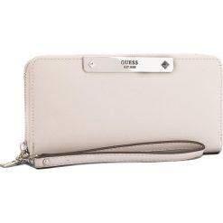 Duży Portfel Damski GUESS - SWPU66 93460  NUD. Brązowe portfele damskie Guess, ze skóry ekologicznej. Za 279.00 zł.