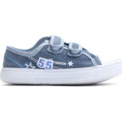 Niebieskie Trampki Want You To Know. Niebieskie buty sportowe chłopięce Born2be, z materiału. Za 29.99 zł.