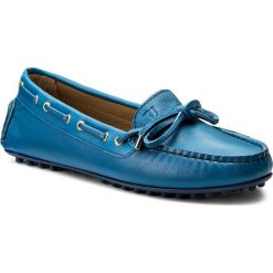 Mokasyny TRUSSARDI JEANS - 79A00183 U280. Niebieskie mokasyny damskie TRUSSARDI JEANS, z jeansu. W wyprzedaży za 379.00 zł.
