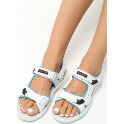 Białe Sandały Mazerunner. Białe sandały damskie Born2be, z aplikacjami. Za 79.99 zł.