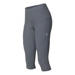 Etape Spodnie Damskie Lady Szary Melanż 3/4 L. Szare spodnie sportowe damskie Etape, melanż, z lycry. Za 149.00 zł.