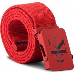 Pasek Męski CALVIN KLEIN JEANS - J Canvas Plaque Belt K50K503838 85 630. Czerwone paski damskie Calvin Klein Jeans, w paski, z jeansu. Za 179.00 zł.