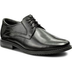 Półbuty LASOCKI FOR MEN - MB01-ALDI-01 Czarny. Czarne eleganckie półbuty Lasocki For Men, ze skóry. Za 189.99 zł.