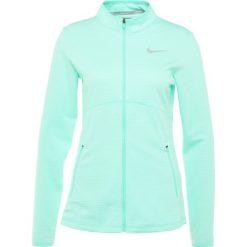 Nike Performance DRY TOP Bluza rozpinana green glow/silver. Bluzy sportowe damskie Nike Performance, z materiału. Za 369.00 zł.