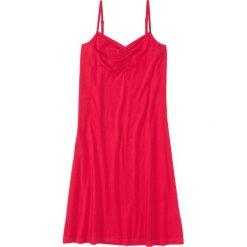 Koszula nocna na cienkich ramiączkach. bonprix czerwony. Koszule nocne damskie marki MAKE ME BIO. Za 34.99 zł.
