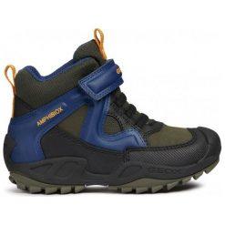 Geox Buty Zimowe Za Kostkę Chłopięce New Savage 30 Niebieski. Niebieskie buty zimowe chłopięce Geox, z gumy. Za 329.00 zł.