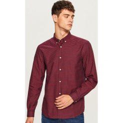 Koszula regular fit w paski - Czerwony. Koszule męskie marki Giacomo Conti. W wyprzedaży za 49.99 zł.