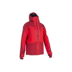 Kurtka narciarska All-Mountain AM900 męska. Czerwone kurtki męskie WED'ZE, z materiału. Za 499.99 zł.
