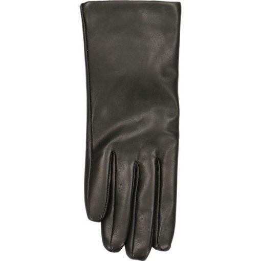 97d2f9bbedee6 Rękawiczki damskie - Czarne rękawiczki damskie marki Gino Rossi, z ...