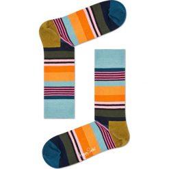 Happy Socks - Skarpety Multi Stripe. Brązowe skarpety męskie Happy Socks. W wyprzedaży za 29.90 zł.