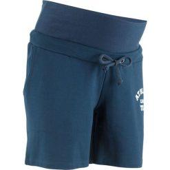 Szorty dresowe ciążowe bonprix ciemnoniebieski. Spodnie dresowe damskie marki bonprix. Za 54.99 zł.