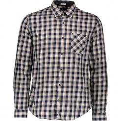 """Koszula """"Heritage Windowpane"""" - Regular fit - w kolorze granatowo-białym. Białe koszule męskie Ben Sherman, w kratkę, z bawełny, button down. W wyprzedaży za 152.95 zł."""