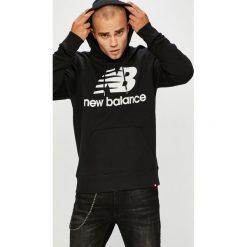 New Balance - Bluza. Szare bluzy męskie New Balance, z nadrukiem, z bawełny. Za 299.90 zł.