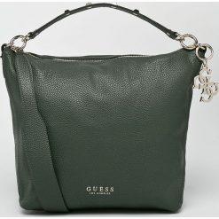 Guess Jeans - Torebka. Szare torby na ramię damskie Guess Jeans, z jeansu. W wyprzedaży za 499.90 zł.