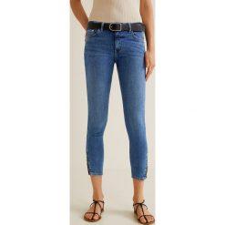 Mango - Jeansy Isa. Niebieskie jeansy damskie Mango. Za 129.90 zł.