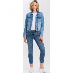 """Dżinsy """"Alyss"""" - Super Skinny fit - w kolorze niebieskim. Niebieskie jeansy damskie Cross Jeans. W wyprzedaży za 136.95 zł."""